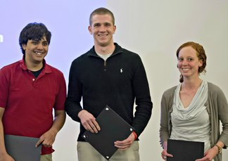 Graduate Student winners of Research Day Poster Session