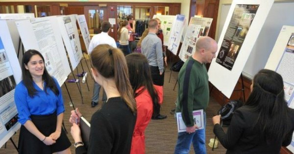 Undergraduates present their research findings at Harper's third annual Research Day