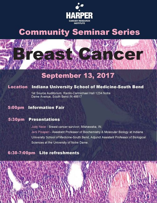 Breast Cancer Seminar Flyer 2017