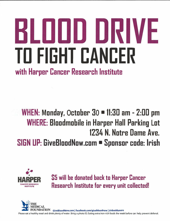 Blood Drive Fall 2017