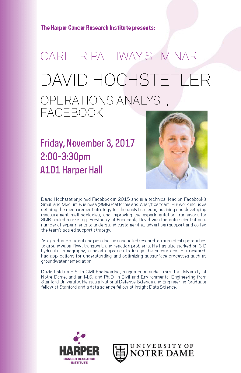 David Hochstetler Flyer
